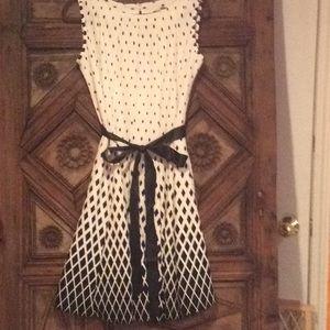 Black &white print Haani dress size petite xl